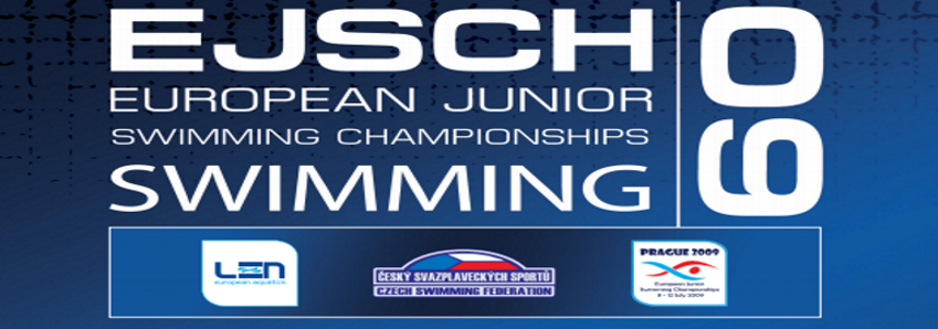 36th European Junior Swimming Championship - Prague